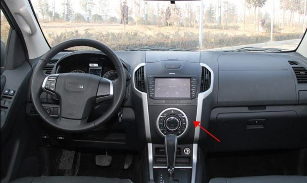 Para isuzu D-MAX interruptor de ar condicionado ventilador do painel automático