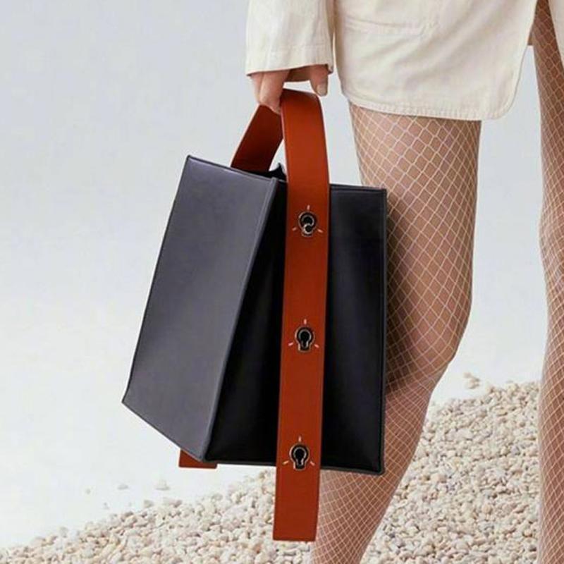 Maihui women leather handbags ladies Patchwork Pattern Top-handle bags new fashion girls shoulder bag quality composite tote bag