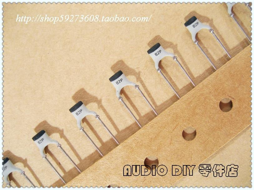 2020 hot sale Holland BC 20PCS/50PCS 82pF/100V 2% NP0 silver film ceramic capacitor (generation 100pF/100V, free shipping 2020 hot sale holland bc 20pcs 50pcs 82pf 100v 2