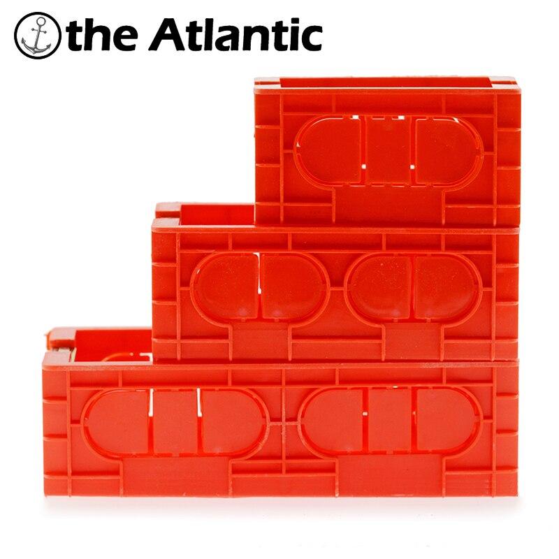 Caja Pared 118 Tipo de nosotros es interior estándar de caja de Cassette para 118mm * 65mm estándar interruptor de pared y hembra caja caja oculta caja enchufe pared