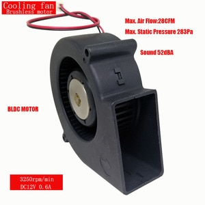 ONPO 12V BLDC MOTOR FAN DC BRUSHLESS 0.6A 3250RPM MAX AIR FLOW 28CFM USED FOR Radiator Fan Cooling