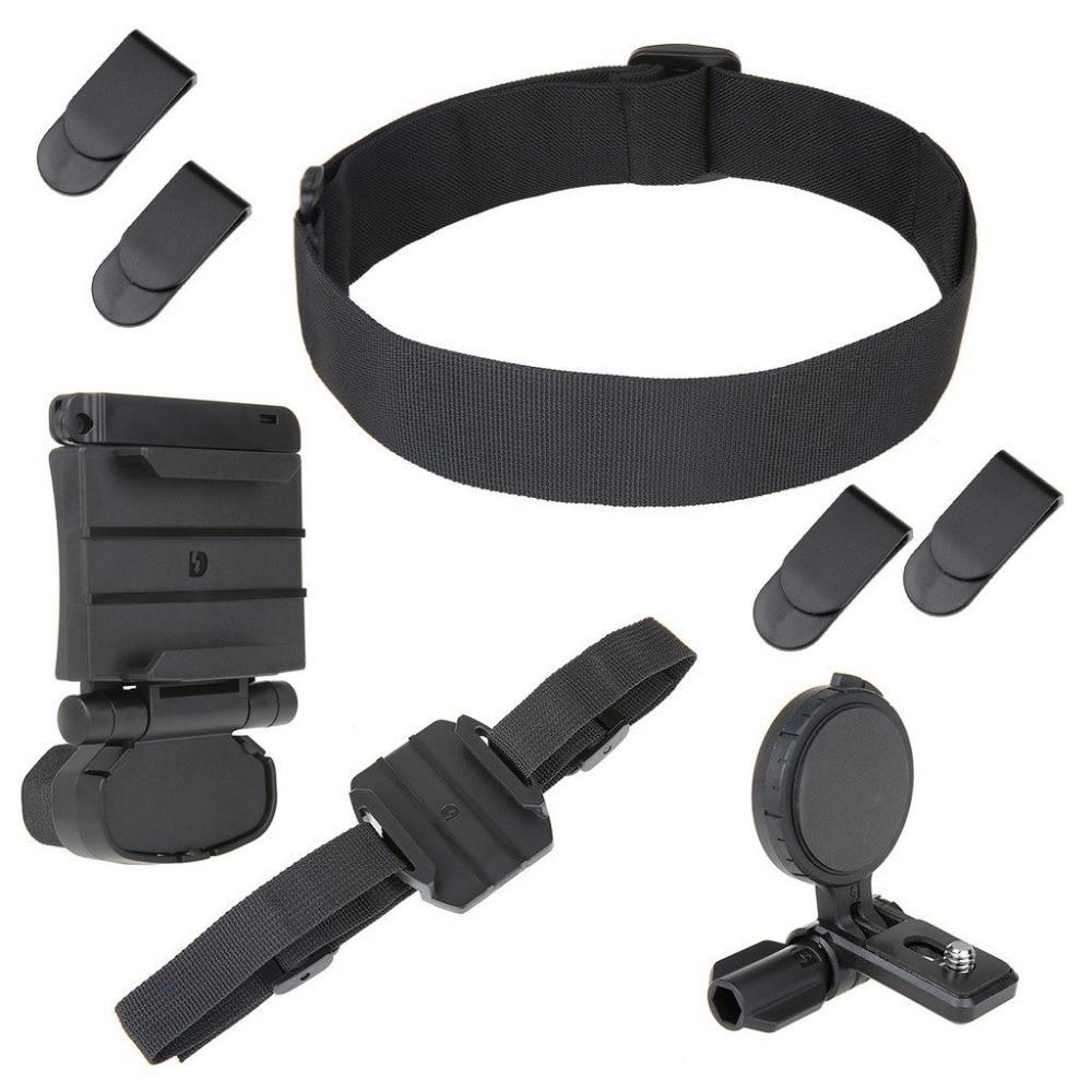 Комплект крепления на голову SETTO, для экшн-камеры Sony HDR BLT-UHM1 AS30V / AS100V / AS15 S50R AS300R X3000R HDR-AS300 HDR-AS200V