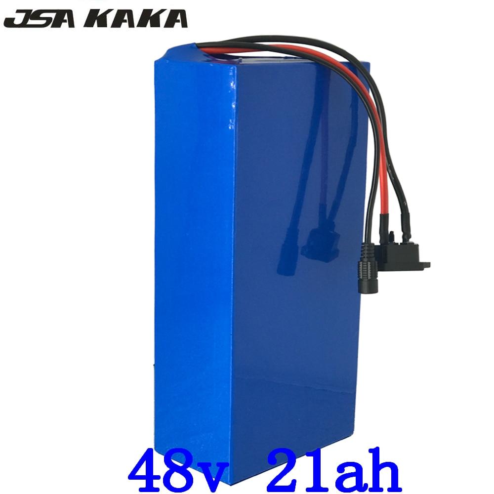 48V Lithium-Batterie 48V 10Ah 15Ah 20Ah 25Ah Elektrische Fahrrad Batterie 48V 1000W 1500W 2000W Ebike Batterie mit 50A BMS + 5A Ladegerät