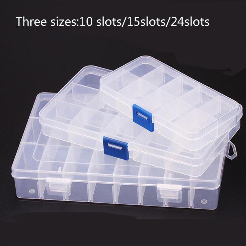 1 предмет; Новинка; 10 слотов клетки Портативный ящик для ювелирных инструментов контейнер кольцо электронный Запчасти винтовые шарики комп...