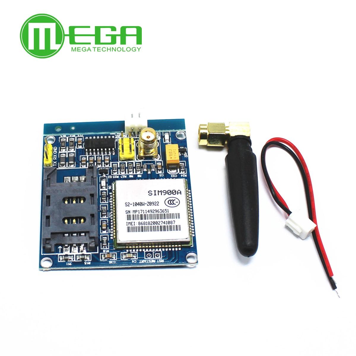 Беспроводной модуль передачи данных SIM900A SIM900 MINI V4.0 GSM GPRS, комплект с антенной C83, 1 шт.