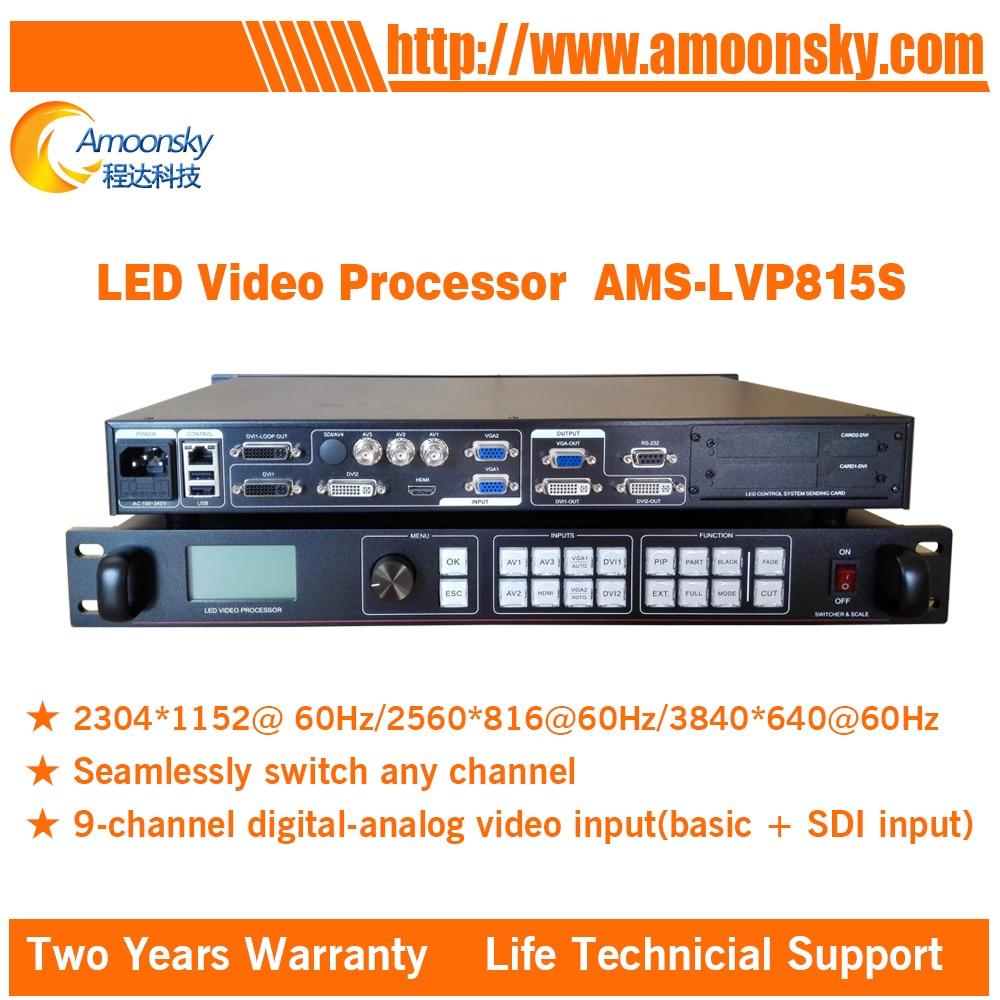 Nuevo diseño, superventas, AMS-LVP815S sdi, procesador de vídeo led a todo color,...