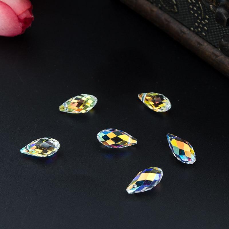 Бисер Briolette, стеклянный бисер в форме капель, 11 мм, 10 шт., высокое качество, для самостоятельного изготовления ювелирных изделий