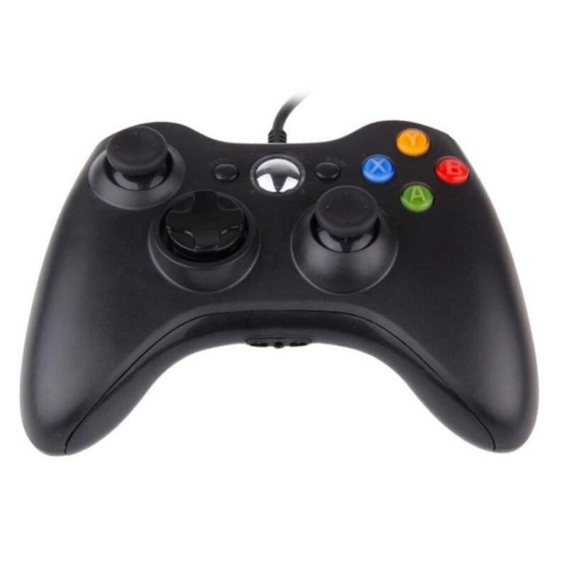 Novo usb com fio gamepad para xbox 360 controlador gaming dupla vibração joystick para computador controlador para windows 7 8 10