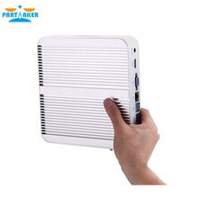Mini PC sans ventilateur pas cher Intel i3 6157U i3 8145U Windows 10 système Barebone ordinateur de bureau Linux HTPC VGA HDMI WiFi 6 * USB