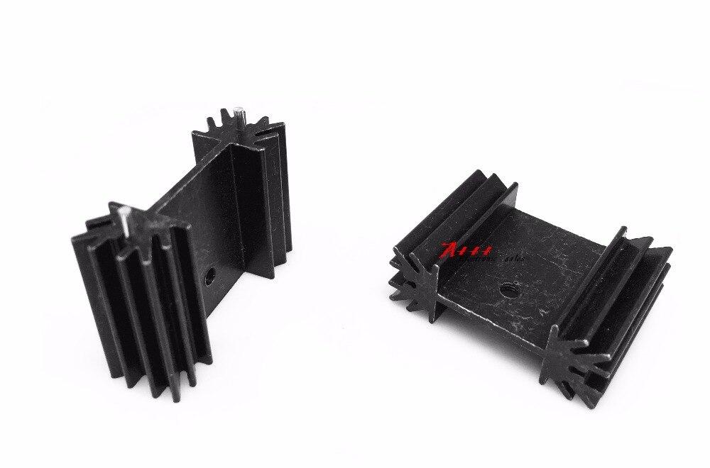 Радиаторный транзистор MOS, радиаторный радиатор IC, 2 шт., 25*34*12 мм, акустический радиатор