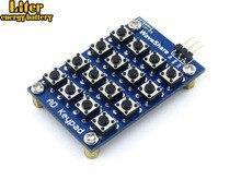 5 pcs/lot clavier AD 16 4x4 accessoires carte matrice boutons contrôlés ADC AD port clavier