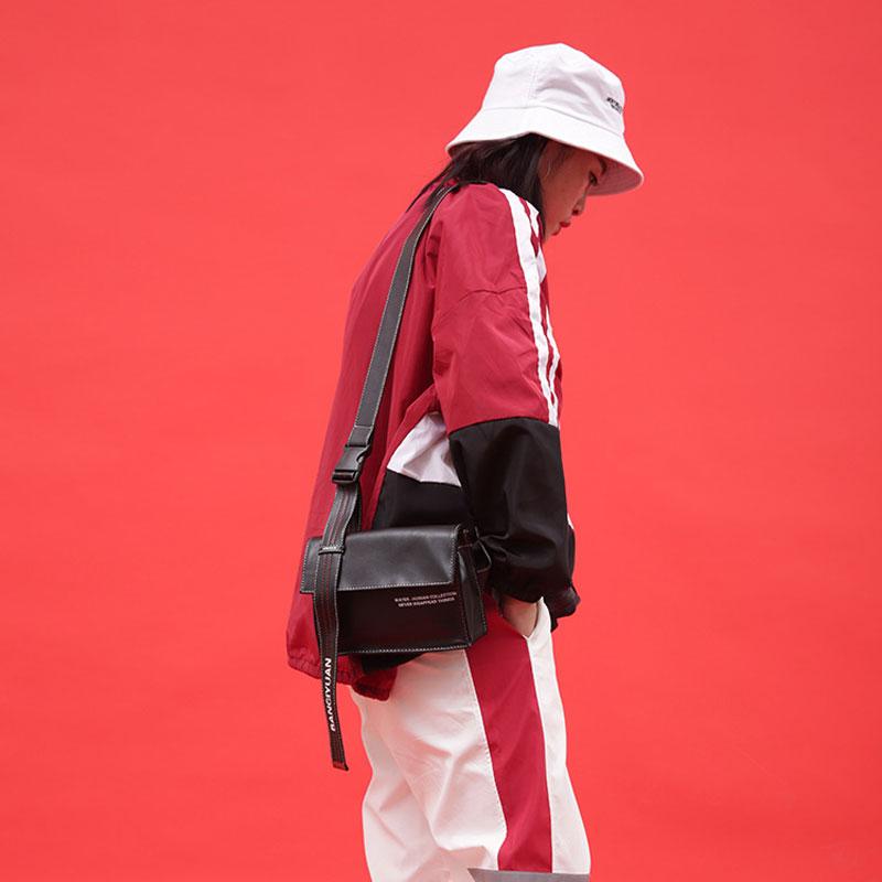 Модная сумка в стиле хип хоп из искусственной кожи поясная для женщин нагрудная