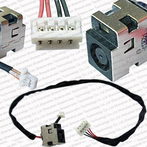 3 pieces/lot Laptop DC POWER JACK socket Cable wire connector for HP ENVY 14 14-1000 14-2000 Series 608380-001 6017B0260301
