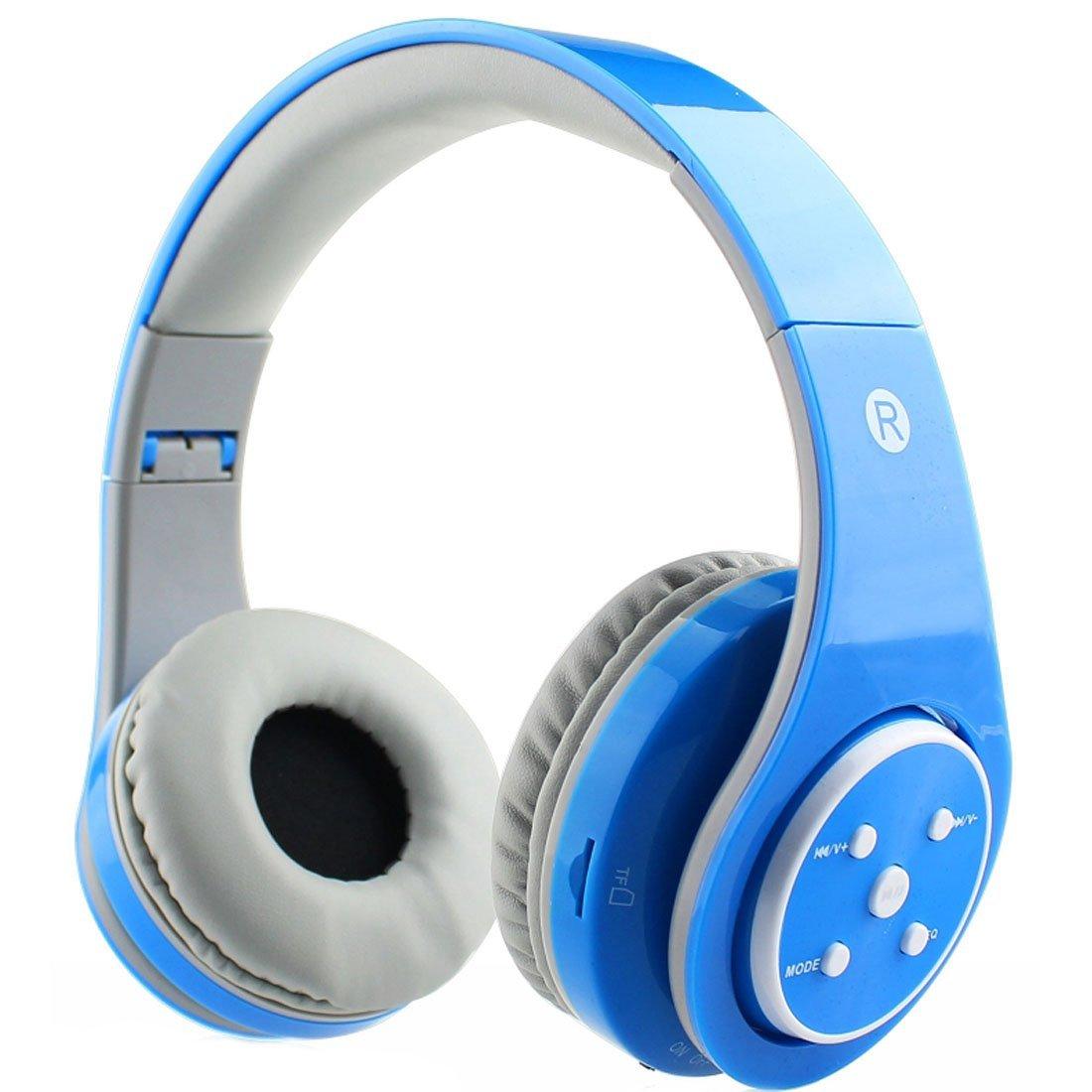 B06 auriculares Bluetooth inalámbricos oído plegable auriculares AUX 3,5mm Jack Cable de ranura para tarjeta SD construido-en el Mic micrófono equipo