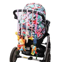 Pacifier Chain Stroller Accessory Strap HolderToys Saver Fixed Bind Belt Toy Baby Anti-Drop Hanger Belt Lanyard Car Seat G0115B