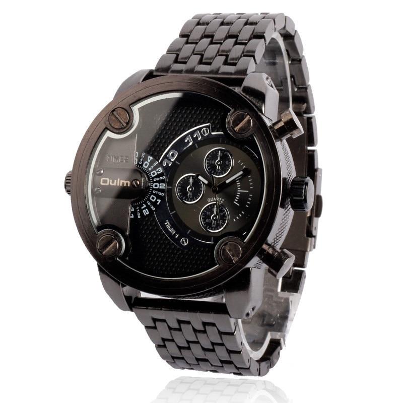 5cm Large relogio masculino Original Tag Design Brand OULM 3130 dz Watch reloj hombre Men Clock Big Montre Homme de Marque Luxe