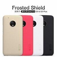 Чехол для Motorola MOTO G5 / MOTO G5 Plus NILLKIN Super Frosted Shield back cover с бесплатной защитой экрана и розничной упаковкой