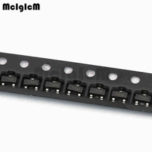 MCIGICM 100 stücke MMBT3904 TRANSISTOR NPN 40V 200mA SOT-23-3 SMD 2N390 4 3904