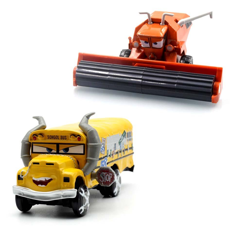 Дисней Pixar Cars 3, Miss Fritter, Cal Jackson Storm, Dinoco Cruz Ramirez 155, литье под давлением, металлические игрушки, модель автомобиля, подарок на день рождения для д...