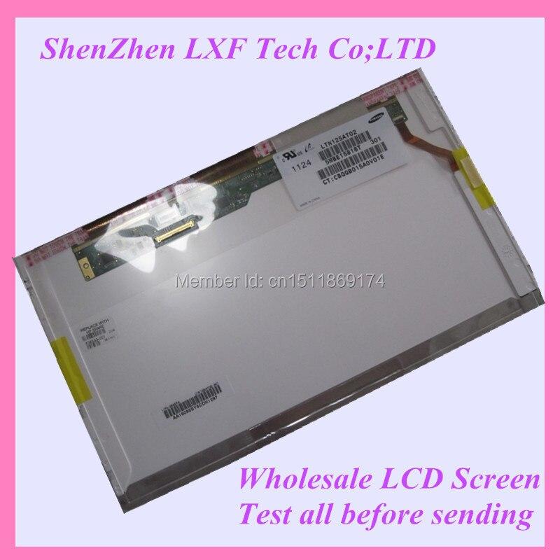 12.5 بوصة LCD Matix شاشة LTN125AT02 B125XW02 V.0 B125XW02 V0 LP125WH1 ل HP 2560p 2570p كمبيوتر محمول شاشة الكريستال السائل 1366*768