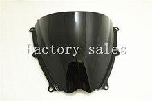 Pare-brise noir Double bulle Suzuki   Pour Suzuki GSXR 1000 R K7 2007 2008, 1000R 07 08 GSXR1000 R