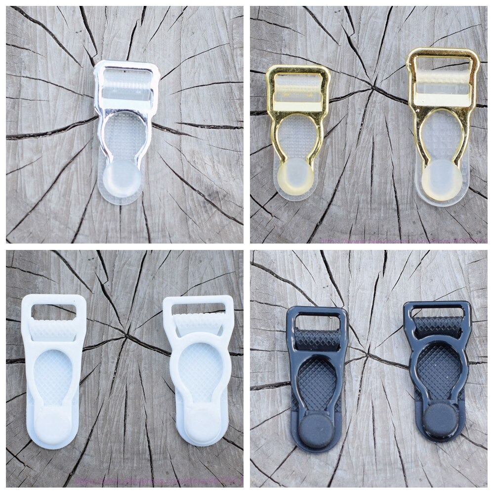 Wholesale 8pcs silver gold garter belt clip suspender clip