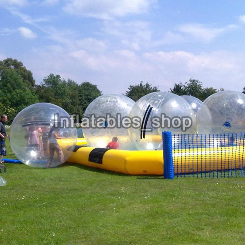 Envío Gratis 6 uds + 2 bomba bola inflable para caminar por el agua/agua Zorb Ball