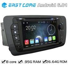 Octa Core 2 Din auto DVD Android 6.01   Pour siège Ibiza 2009 2010 2011 2012 2013, avec Bluetooth Radio stéréo GPS