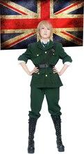 Axe pouvoirs Hetalia angleterre Arthur Kirkland uniforme Cosplay Costume