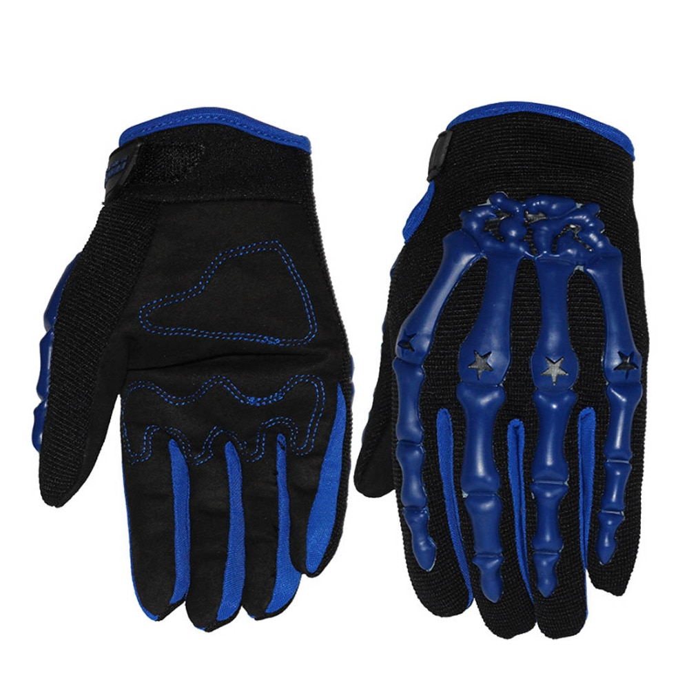 Pro-biker skeleton gloves motocross men motorcycle racing gloves guantes luvas de motociclista gants moto cycling downhill glove enlarge