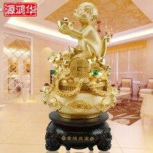 Source Honghua-nouveau singe chanceux   Singe chanceux, ornements de singe, trésor de singe, meubles de salon, ameublement de magasin, cadeaux douverture