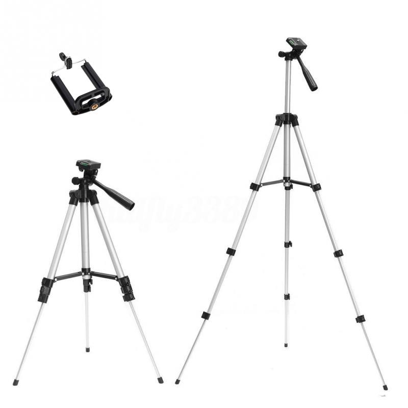 Tripods camera stand cam smartphone mobile phone holder monopod tripe extension stick tripod for camera standaard