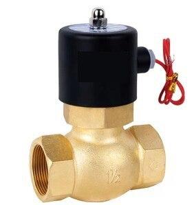 1-1/4 válvula de solenoide de vapor PTFE US-35 válvulas de 2/2 vías 2L300-35