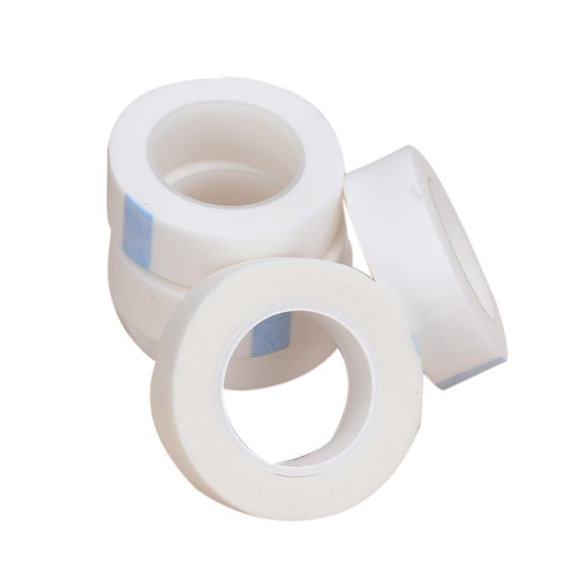 5pcs Eyelash Extension Lint Free Eye Pads White Tape Under Eye Pads Paper T For False Eyelash Patch Make Up Tools
