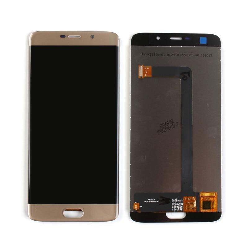 شاشة الهاتف الذكي, شاشة LCD أصلية لهاتف Elephone S7 مع مجموعة المحولات الرقمية لشاشة تعمل باللمس باللون الأسود/الأزرق/الذهبي شحن مجاني