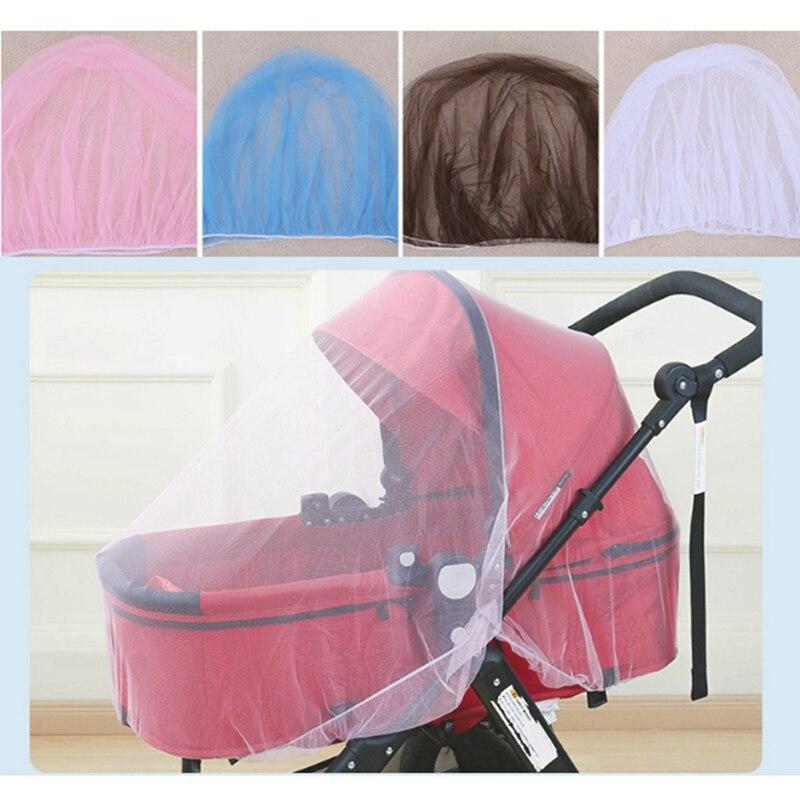 Mosquitera para bebés, cochecito de bebé, mosquitera, malla de seguridad, Buggy, cuna, red para silla de bebé, Pushchair, cubierta completa, red