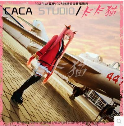 Nuevo Cosplay de Cos Itsuka Kotori, fecha de Anime A LIVE Halloween, comandante de ropa, uniformes escolares, 4 en 1 conjunto completo (Top + faldas + abrigo + corbata