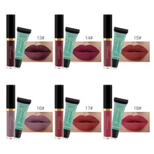 NICEFACE 2pcs/lot Waterproof Velvet Matte Liquid Lipstick Makeup Set Lipstick Remover Gel + Long Lasting Nude Lipgloss Cosmetics