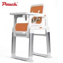 Pouch Aparte Baby Eettafel, Draagbare Kids Feeding Stoel, 3 In 1 Kinderstoel