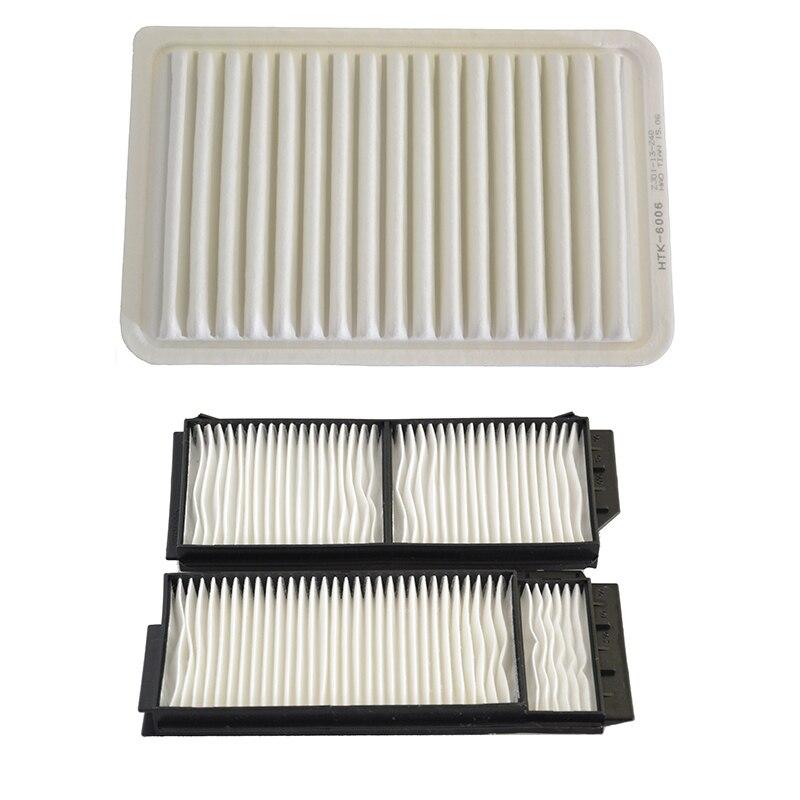 Filtro de aire para coche, filtro de cabina para Mazda 3 1.6L 2007-2011 ZJ01-13-Z40 BP4K-61-J6X
