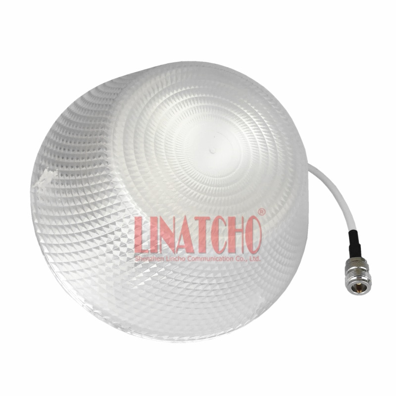 decorative 800-960MHz/1710-2500Mhz 3dBI omni indoor ceiling antenna for GSM CDMA WCDMA signal Repeater Booster enlarge