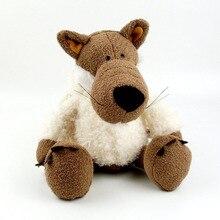35cm 50cm 80cm allemagne Super mignon loup en peluche jouets avec casquette loup loups ameublement pour cadeaux danniversaire 1 pièces/lot