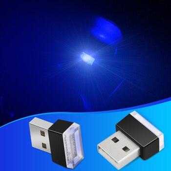 1pcs Car-Styling USB Atmosphere LED Light Car Accessories For TOYOTA RAV4 C-HR COROLLA CROWN REIZ PRIUS COROLLA VIOS LAND