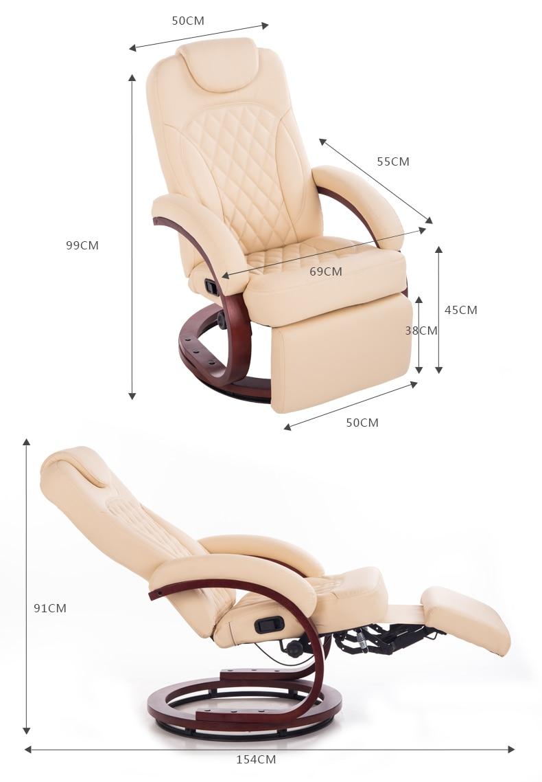 Masaje, silla de peluquería, diván largo. Silla perezosa. ¿Sillas de madera? Uñas Silla de maquillaje