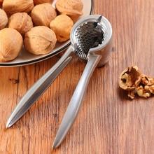 Alliage daluminium noix craker casse-noisette décortiqueur noix pince outils de cuisine pour 1.5-3.5CM amande noix de pécan noisette pince à main