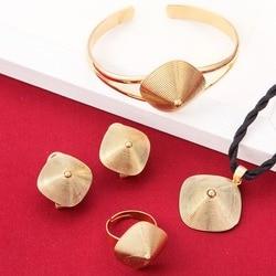 Etíope Conjuntos de Jóias 24 K Cor de Ouro Conjunto de Jóias Para O Etíope Da Eritreia Meninas Africanas