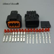 Shhworldsea connecteur de lampe   8 broches, véhicule Auto, scellé connecteur de lampe, prise de phare pour Audi BMW Ford