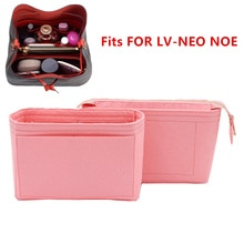 Fits For Neo noe Insert Bags Organizer Makeup Handbag Organize Travel Inner Purse Portable Cosmetic