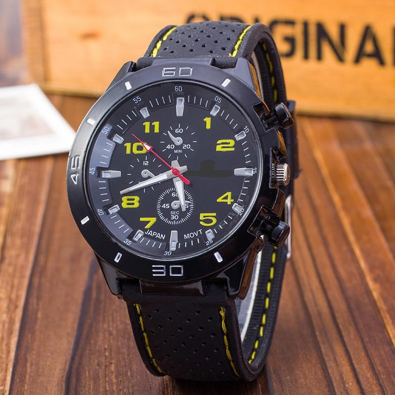 Outdoor Casual Watch Men Sport watches Luxury Brand Silicone quartz Wristwatch men Military Relogio masculino Reloj Hombre