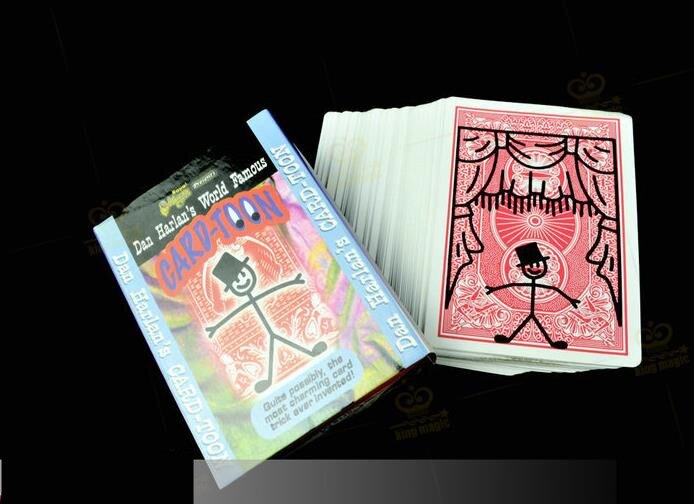 Card-Toon #1 - Card Magic,Magic Tricks,Mentalism,Illusion,Stage,Street,Close Up,Fun,Kids Magic,Magic Show,Toys